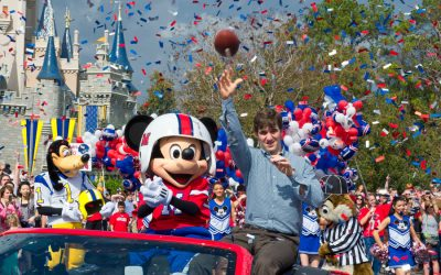 """The History of """"I'm Going To Disney World"""" at the Super Bowl"""