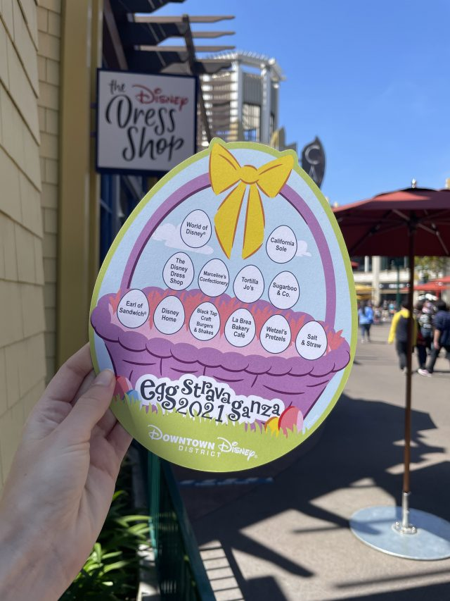 Easter Egg Hunt 2021 at Downtown Disney