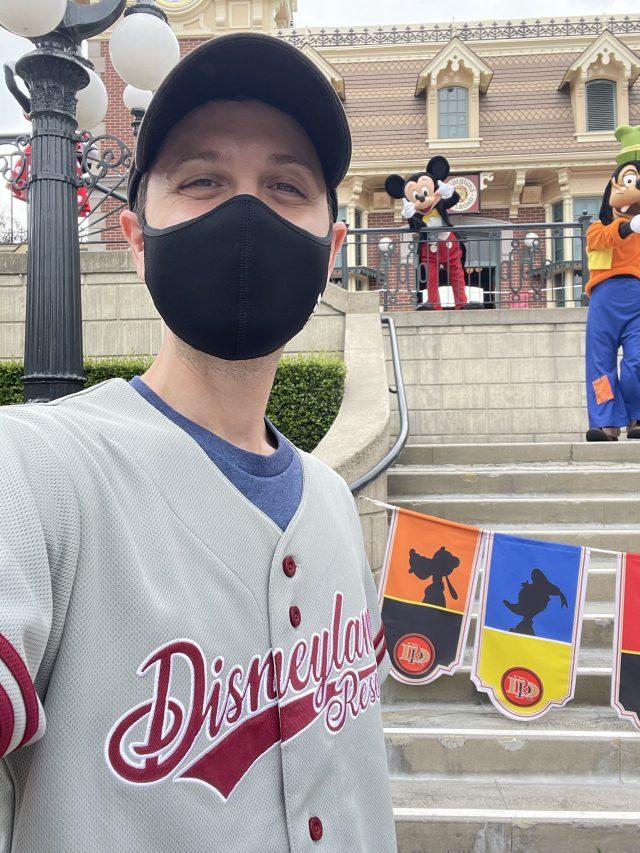 Meeting Characters in Disneyland