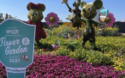 Topiaries of EPCOT Flower & Garden Festival